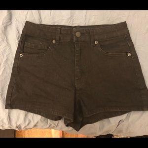 Forever 21 Black High Waist Shorts